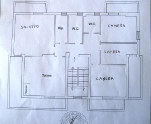 piantina tipo 1-2-3-4  piano